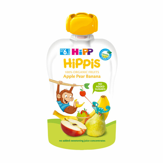 HiPP Organic Apple Pear Banana Pouch