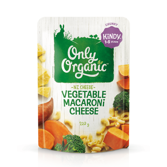 Only Organic Vegetable Macaroni Cheese