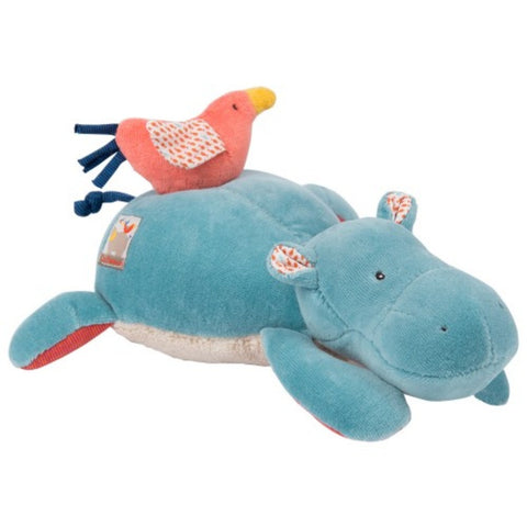Moulin Roty Musical Pullstring Hippo