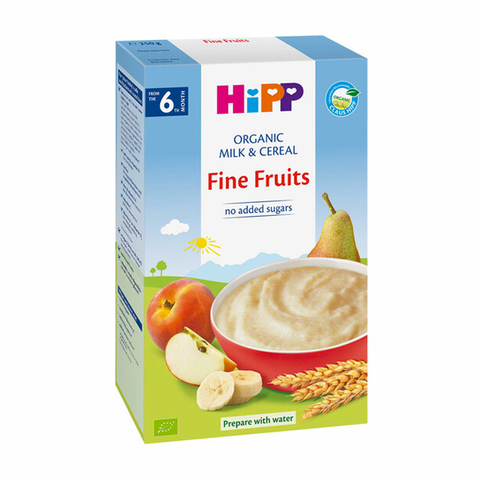 HiPP Organic Milk Pap Fine Fruits