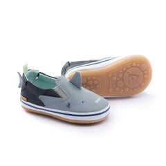 Tip Toey Joey Sharky - Tide Blue/Navy