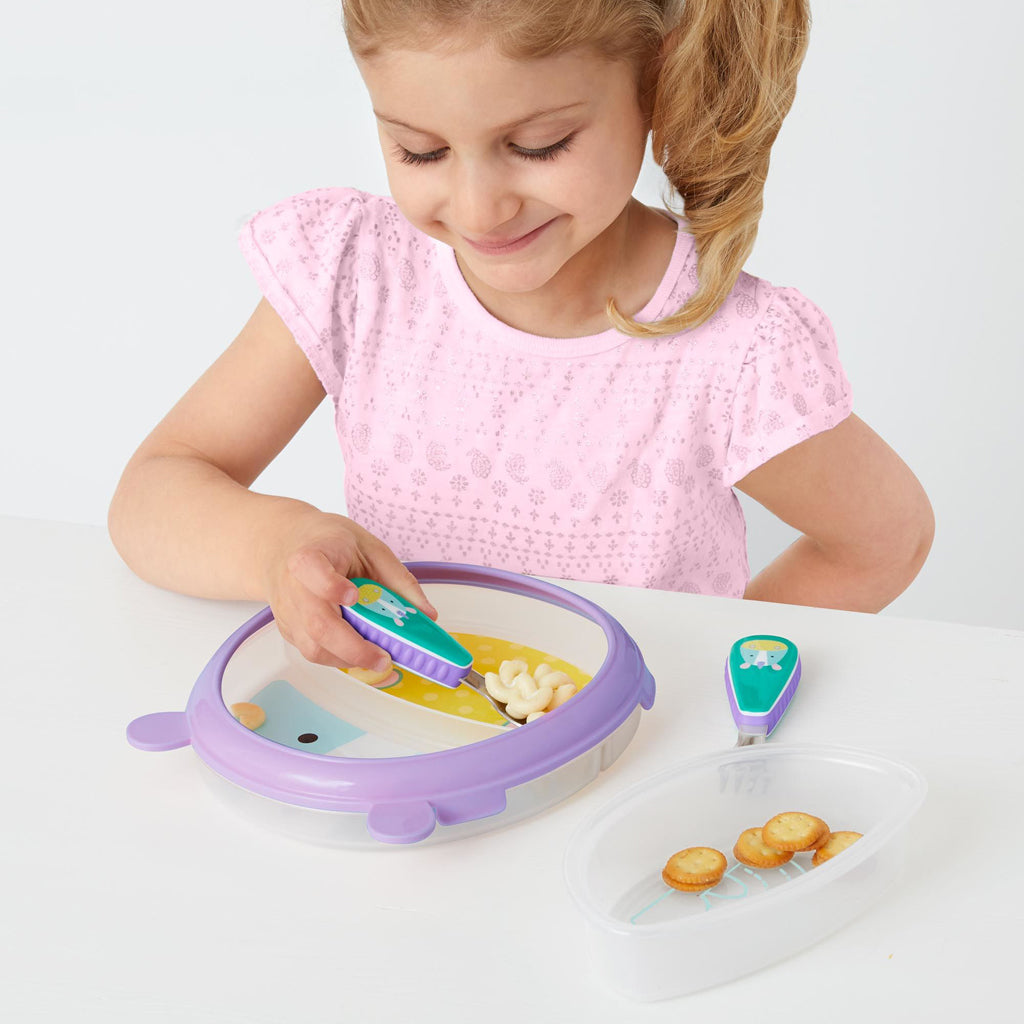 Skip Hop Zoo Smart Serve Plate and Bowl