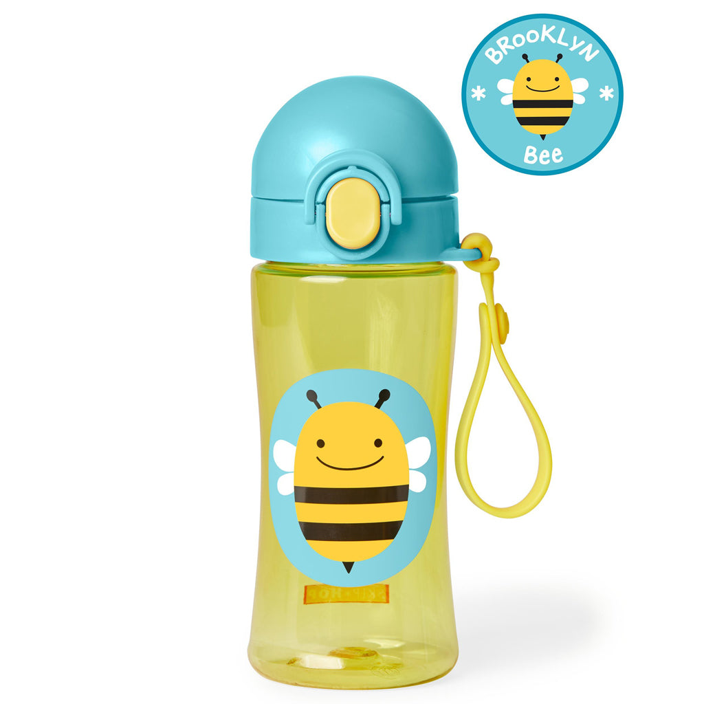 Skip Hop Zoo Lock-Top Sports Bottle