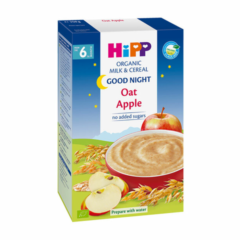 HiPP Organic Good Night Milk Pap Oat-Apple