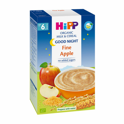 HiPP Organic Good Night Milk Pap Fine Apple