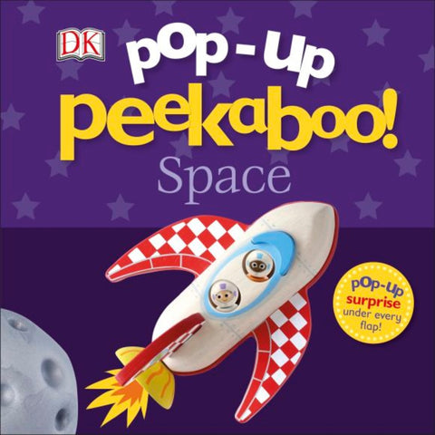 DK Books Pop-Up Peekaboo! Space