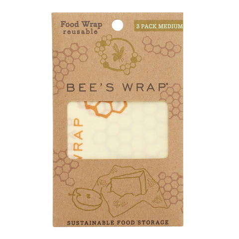 Bee's Wrap Honeycomb Medium 3 Pack