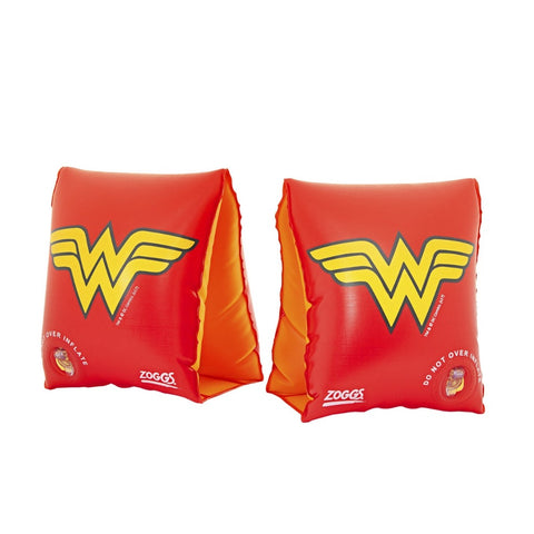 Zoggs DC Super Heroes Wonder Woman Armbands 2-6 Years
