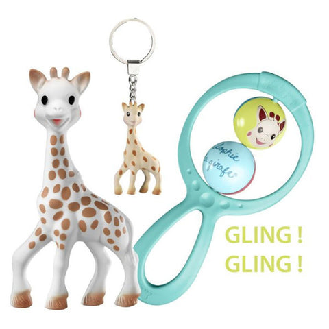 Sophie La Giraffe Birth Gift Set