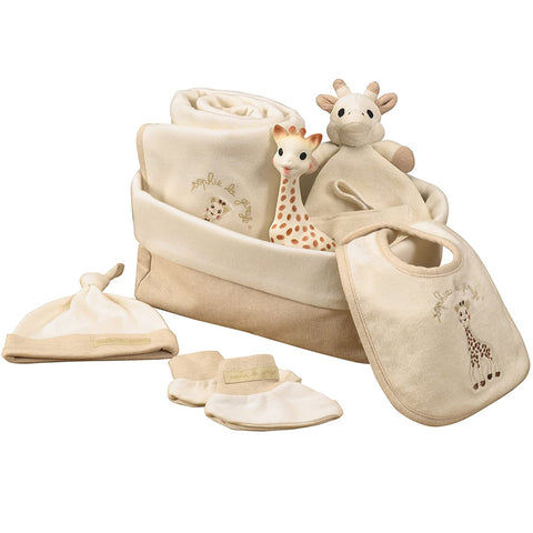 "Sophie La Giraffe So 'Pure ""My first hours"" Gift Box"