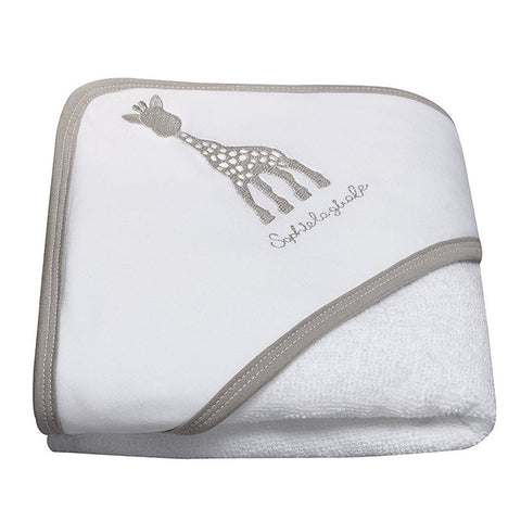 Sophie La Giraffe Hooded Bath Towel