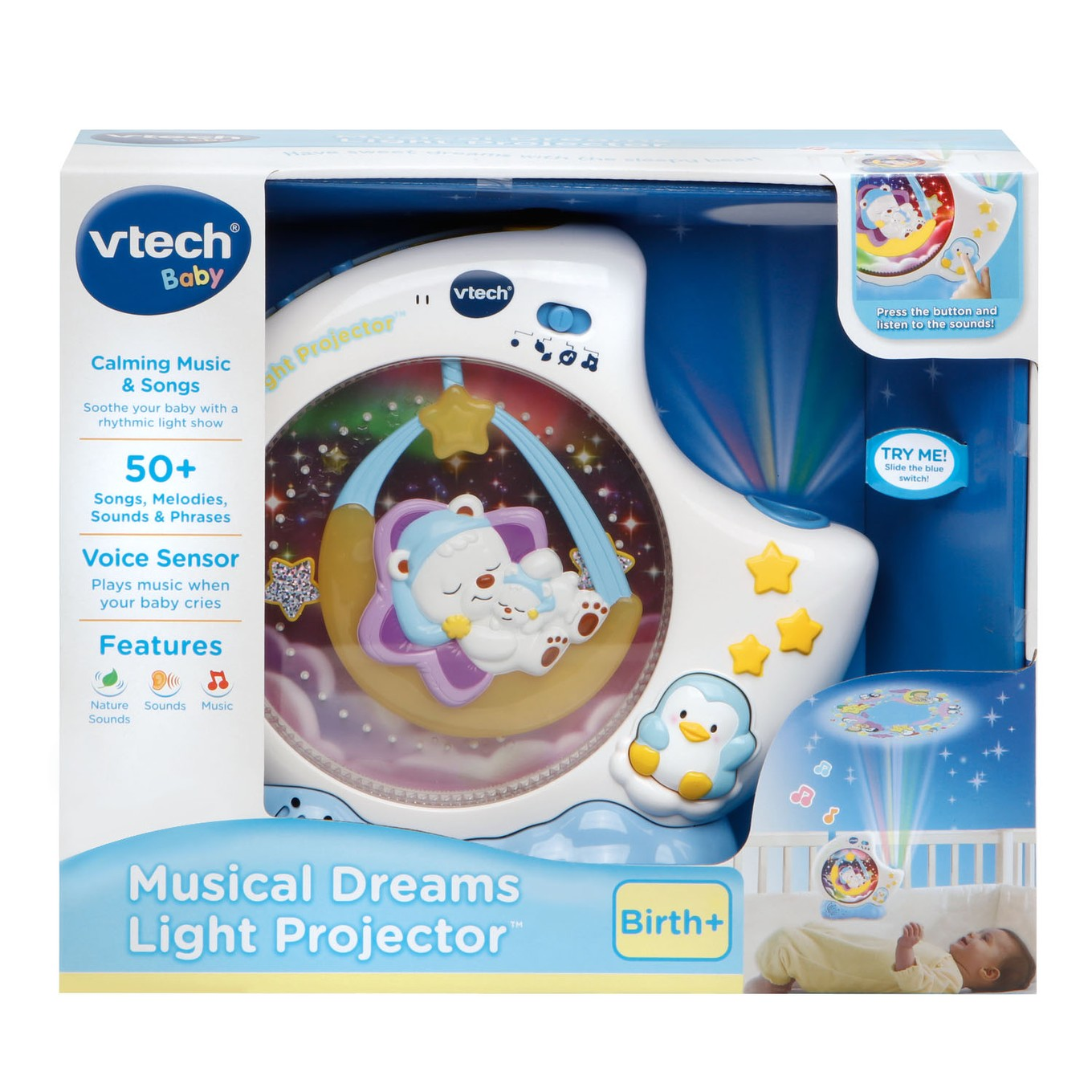 V-Tech Soothe and Surprise Nature Light