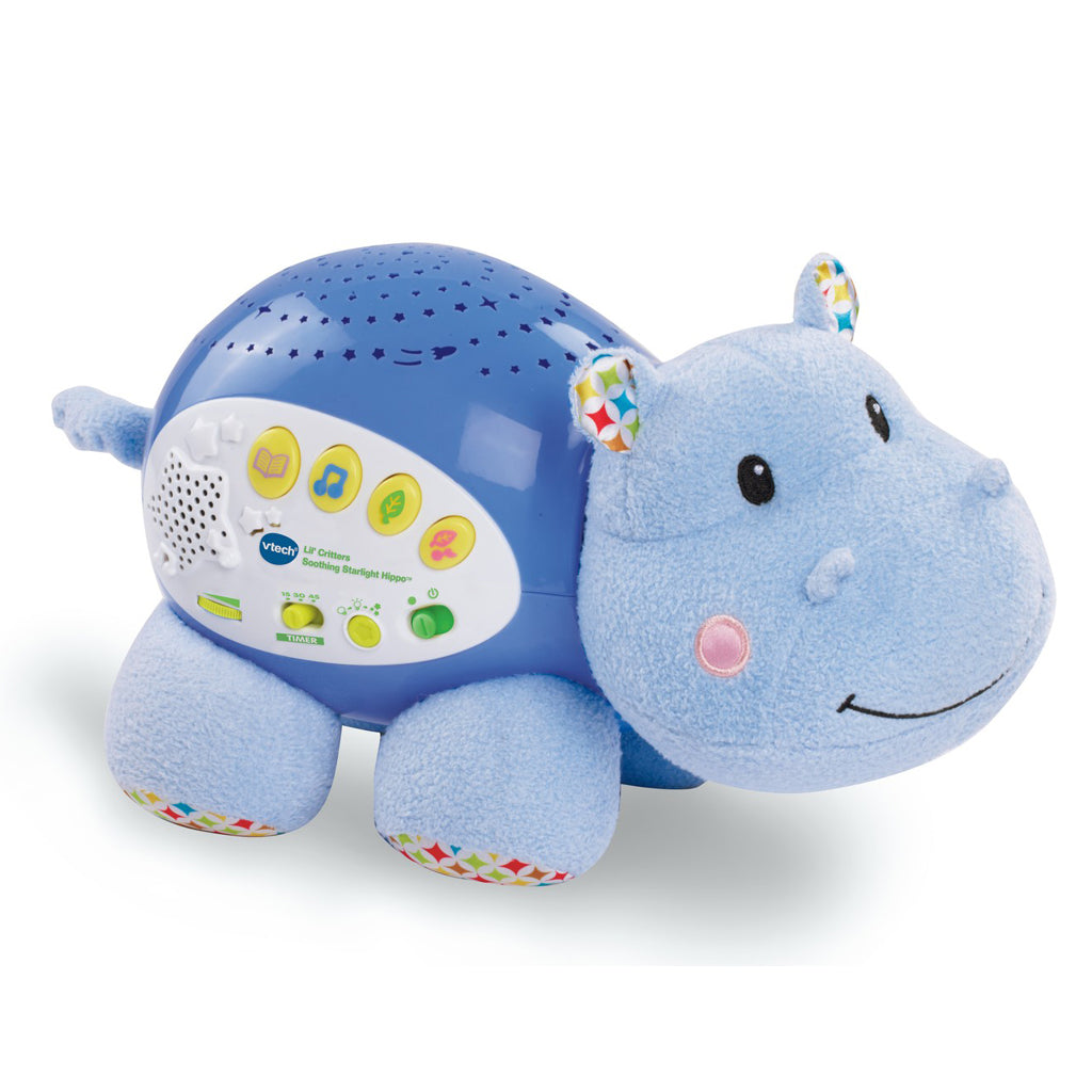 V-Tech Lil' Critters Soothing Starlight Hippo