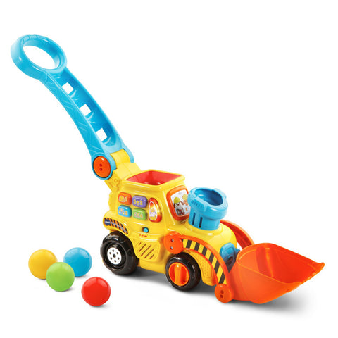 V-Tech Pop-a-Balls Push & Pop Bulldozer