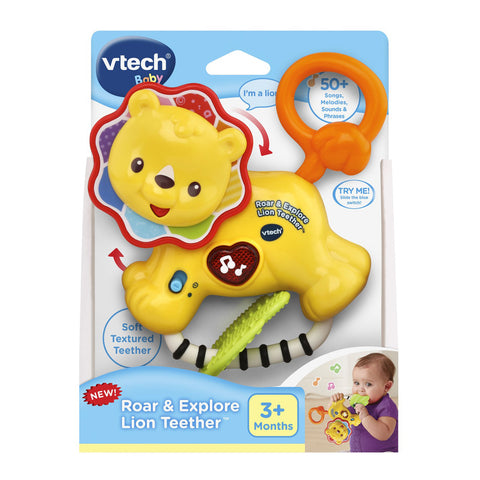 V-Tech Roar & Explore Lion Teether