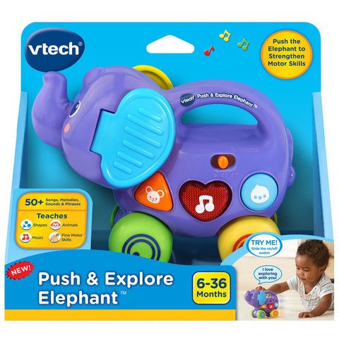 V-Tech Push & Explore Elephant