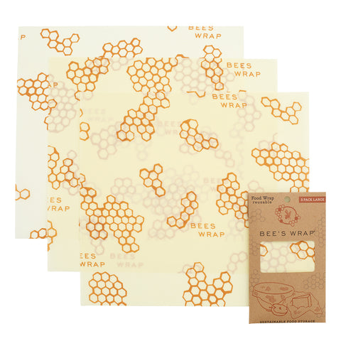 Bee's Wrap Honeycomb Large 3 Pack