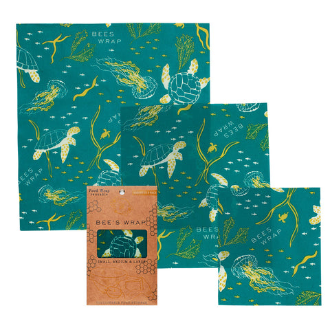 Bee's Wrap Oceans Assorted 3 Pack
