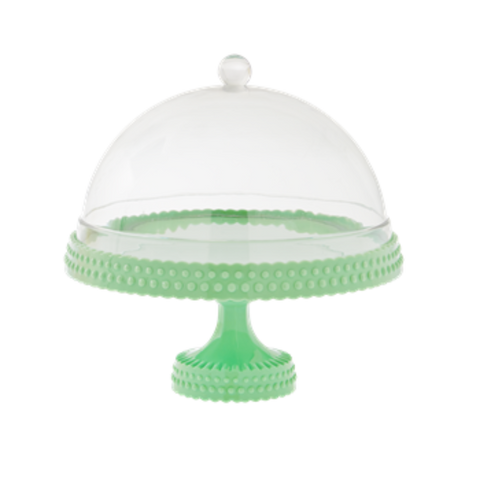 Rice Cake Stand with Dome