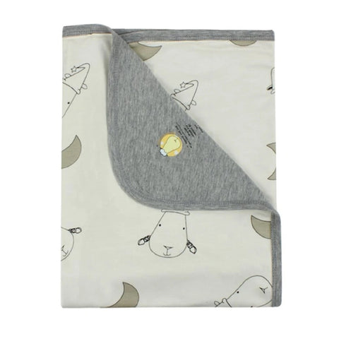 Baa Baa Sheepz Double Layer Blanket - Big Moon & Sheepz