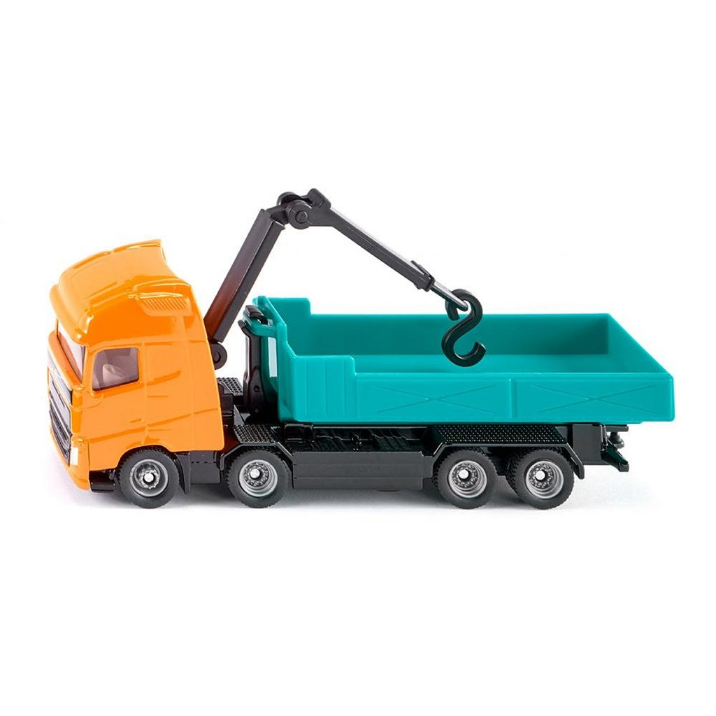 Siku Volvo Roll-Off Tipper with Crane