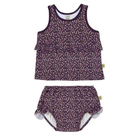 Lassig Girl Tankini Set Multidots