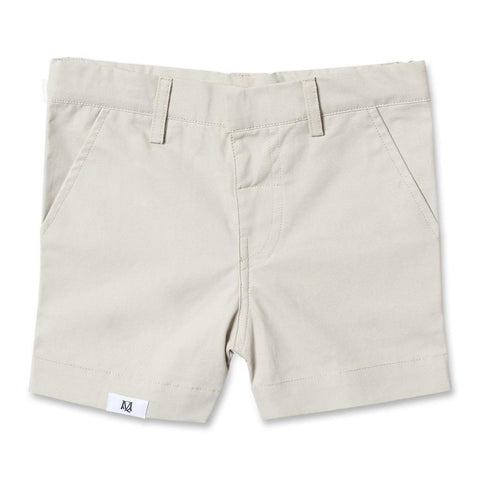 Maison Q Formal Shorts Khaki