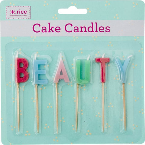 Rice Candles - BEAUTY
