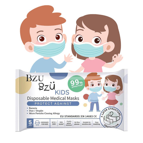 Bzu Bzu Kids Surgical Mask