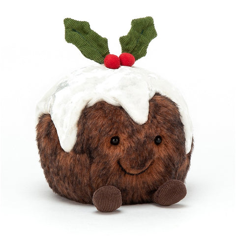 Jellycat Amuseable Christmas Pudding