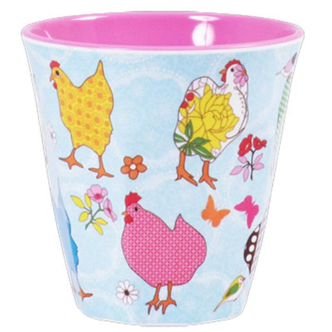 Rice Melamine Cup Two Tone