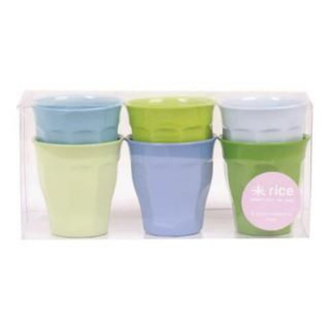 Rice Melamine Curved Cups - Small