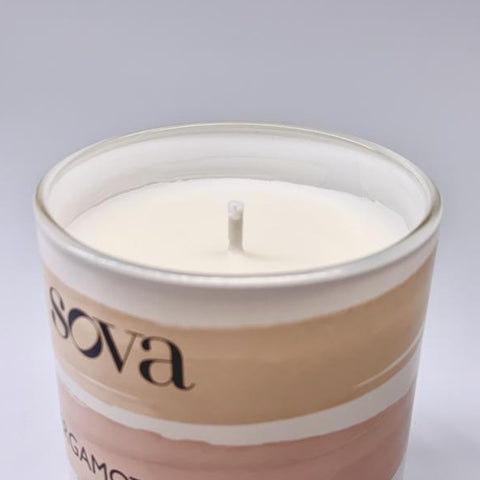 SOVA Lullaby Scented Candles - Bergamot & Fig
