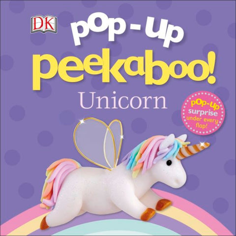 DK Books Pop-Up Peekaboo! Unicorn