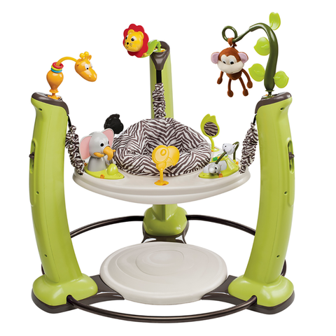 Exersaucer Jump & Learn Jungle Quest Stationary Jumper