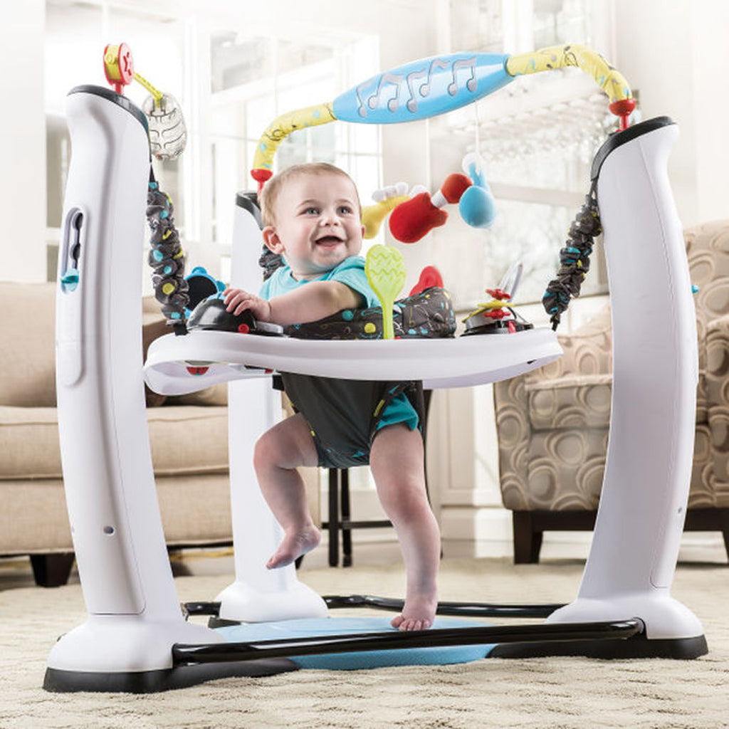 Exersaucer Jump & Learn Jam Session Stationary Jumper