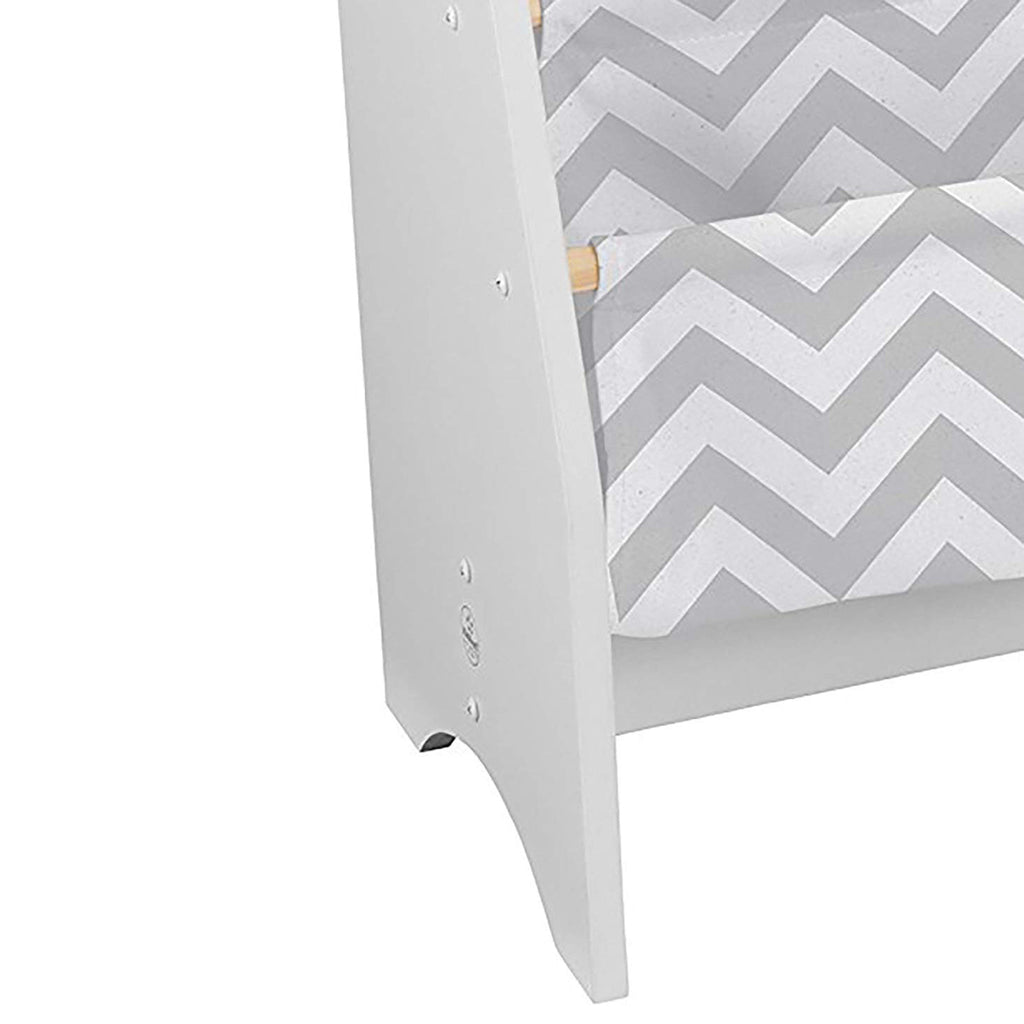 KidKraft Sling Bookshelf - Gray & White Pattern