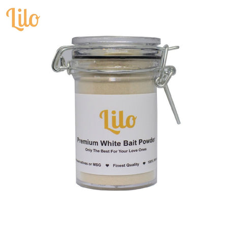 Lilo Premium White Bait Powder Bottle 50g