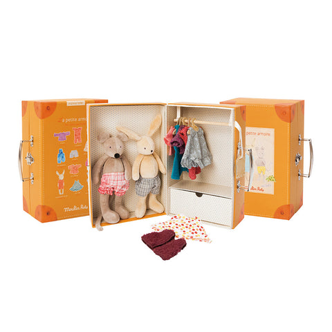 Moulin Roty Fashion Wardrobe Suitcase