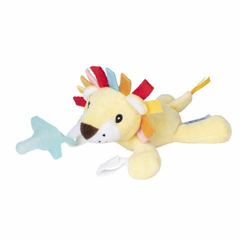 Dr Brown's Lonny The Lion Lovey with Aqua One Piece Pacifier
