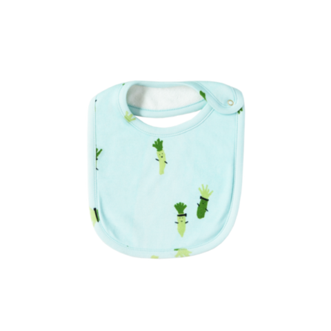 Sea Apple Wasabi Sky Blue Bib