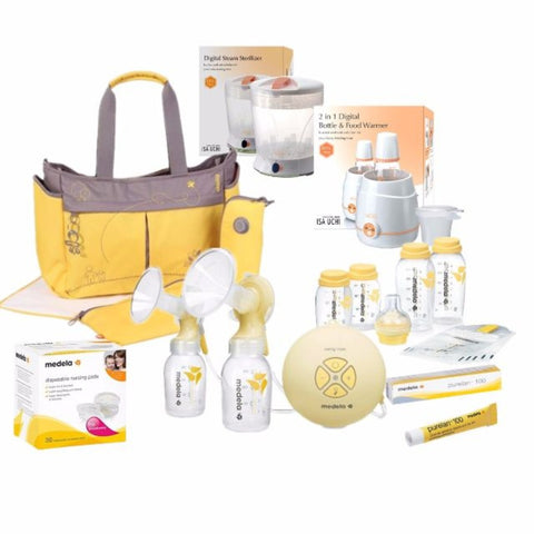 Medela Swing Maxi Breast Pump Bundle 2016