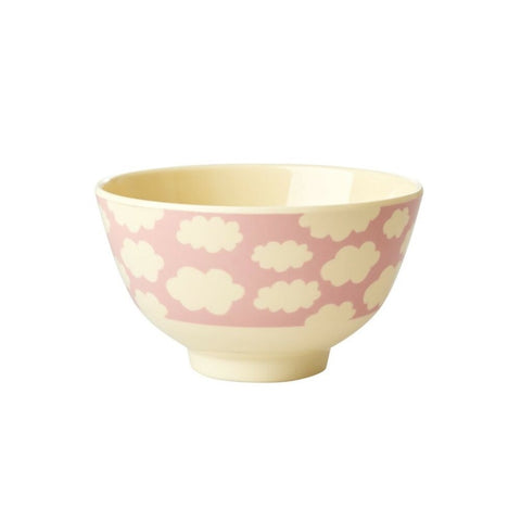 Rice Melamine Bowl Two Tone - Small