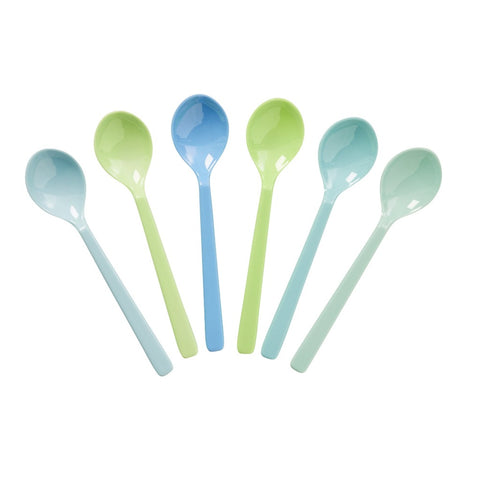 Rice Melamine Teaspoons - Sets of 6