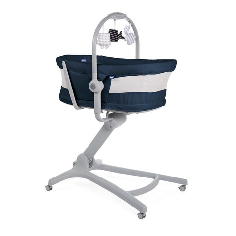 Chicco Baby Hug 4 in 1 Air - crib, recliner, highchair and table chair