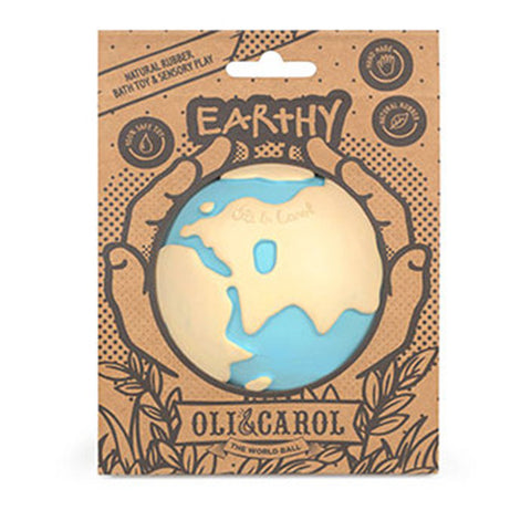 Oli&Carol Earthy The World Ball Baby Bath Toys