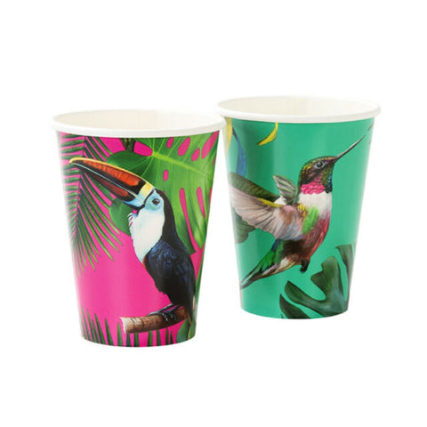 Talking Tables Tropical Fiesta Bright Large Paper Cup