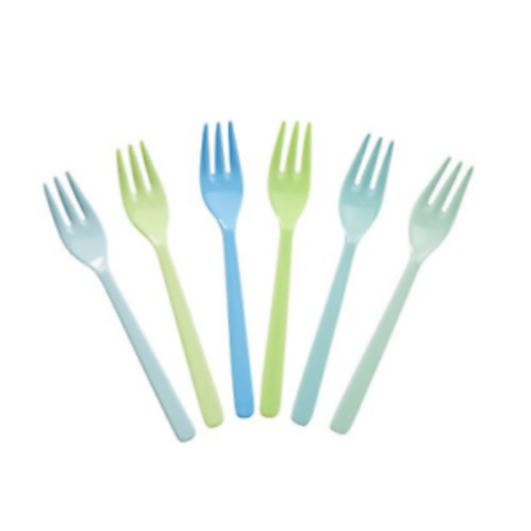 Rice Cake Forks Set of 6