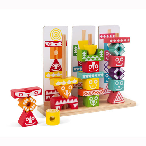 Janod I Wood Education Stackable Pieces