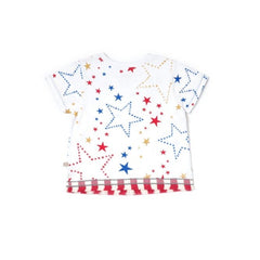Oeteo Starry Gaze Fringed Tee
